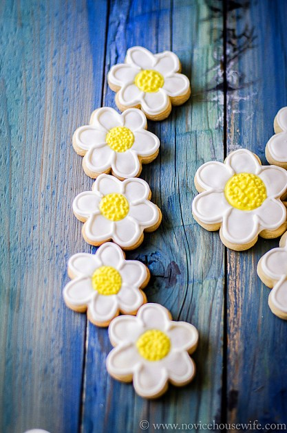 daisy sugar cookies-9