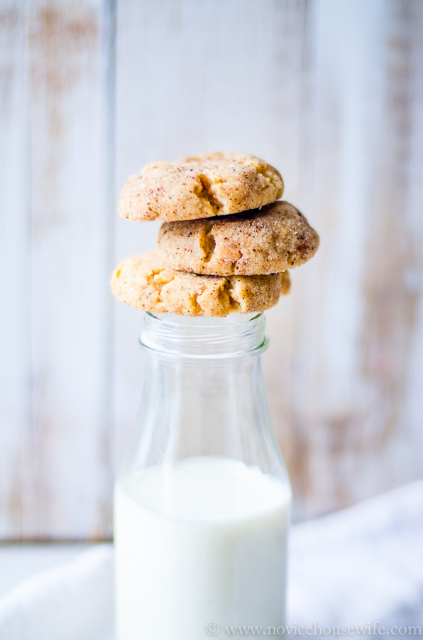 Browned Butter Snickerdoodles | The Novice Housewife