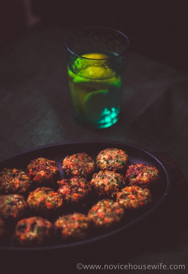 Vegetarian Kebabs | The Novice Housewife