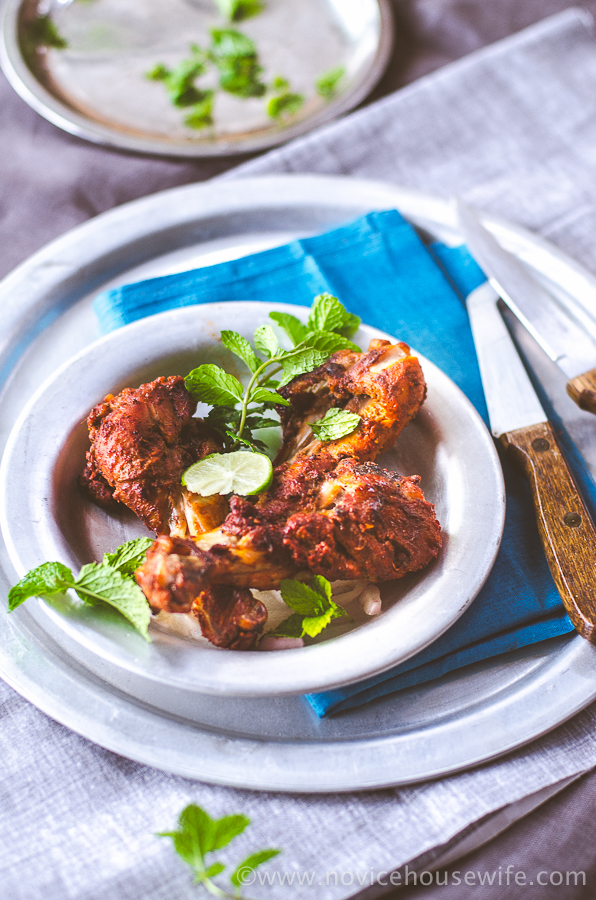 Tandoori Chicken   The Novice Housewife