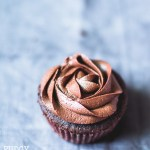Fudgy Chocolate Cupcakes with Chocolate Fudge Frosting