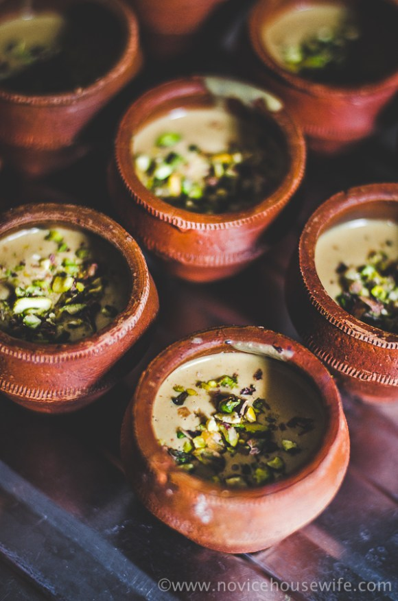 Slow Cooker Pista Kulfi | The Novice Housewife