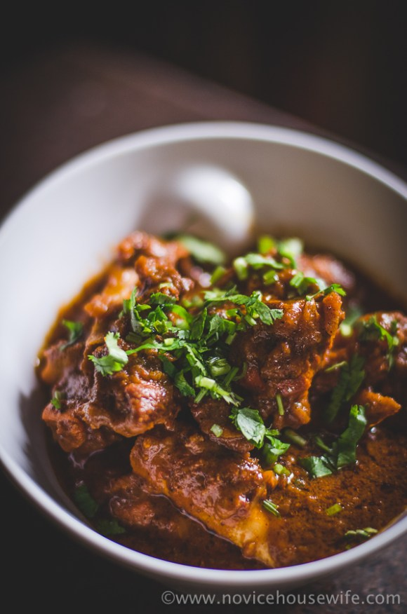 Mutton Curry | The Novice Housewife