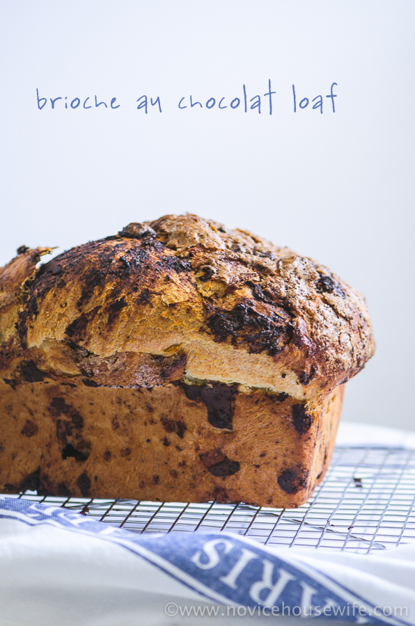 Chocolate Brioche | The Novice Housewife