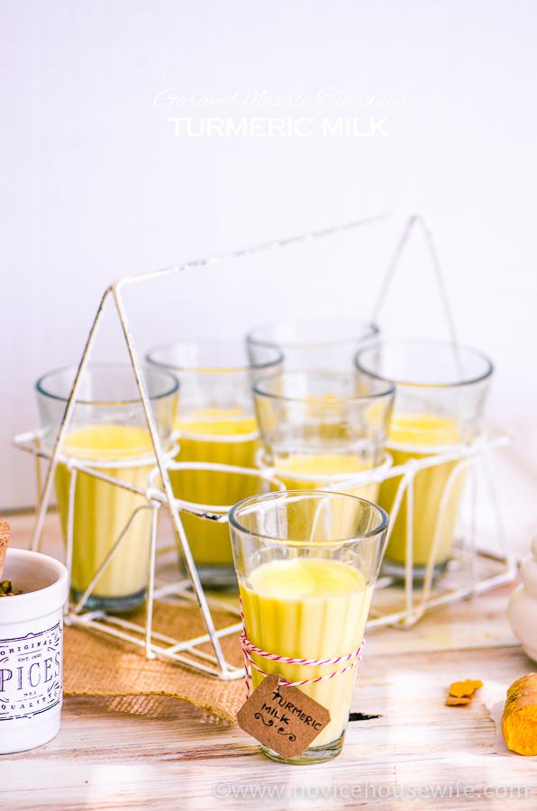 Turmeric Milk | The Novice Housewife