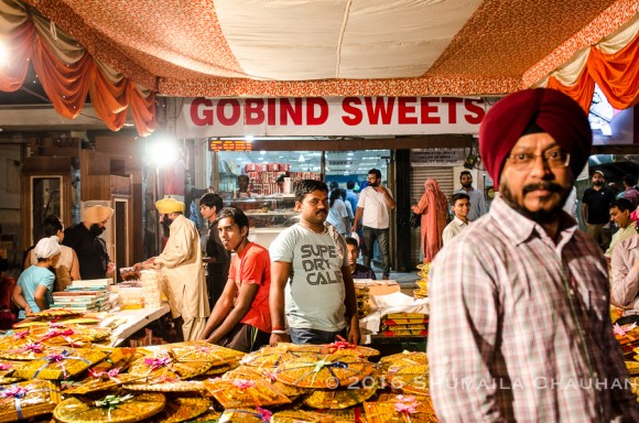 Gobind Sweets during Diwali