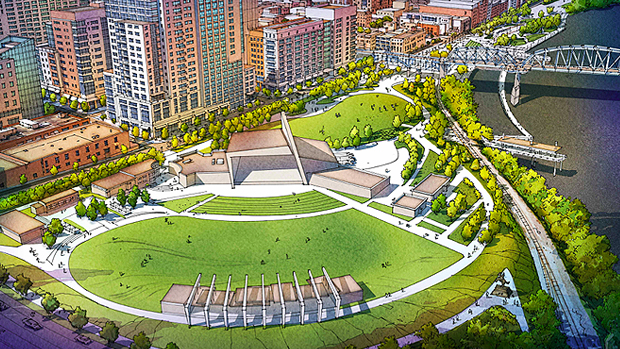 Rendering of the Ascend Ampitheatre