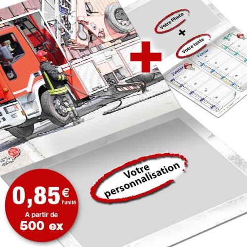 npc-calendrier.fr, calendrier des sapeurs-pompiers personnalisés et personnalisables, eco-8+4-option2, 2018