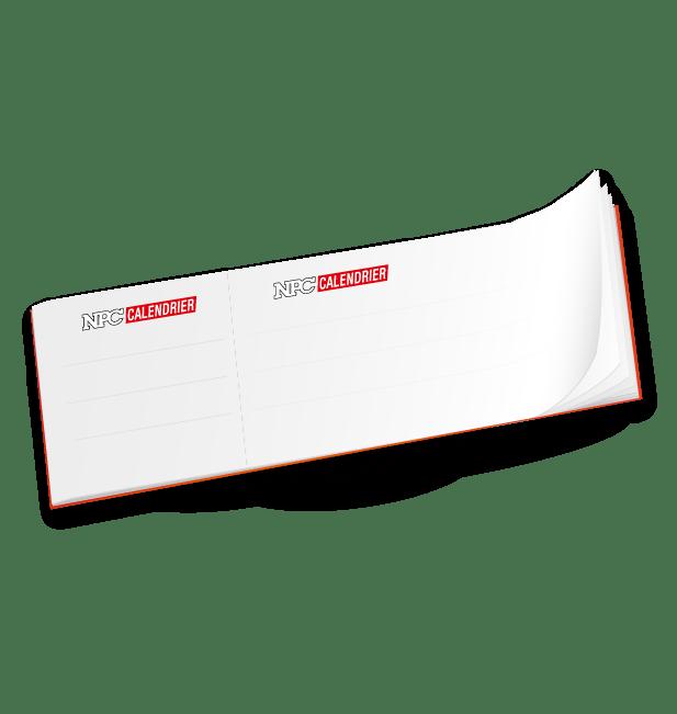 carnet à souche, calendrier sapeur-pompier, calendriers sapeurs-pompiers, npc-calendrier.fr
