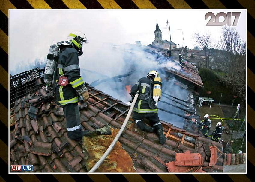 calendrier des sapeurs-pompiers de bergerac-2017-7, npc-calendrier.fr