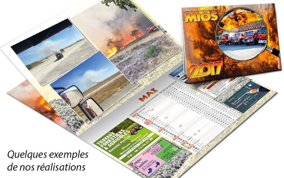 npc-calendrier.fr, calendrier des sapeurs-pompiers personnalisés et personnalisables, mios, 2017