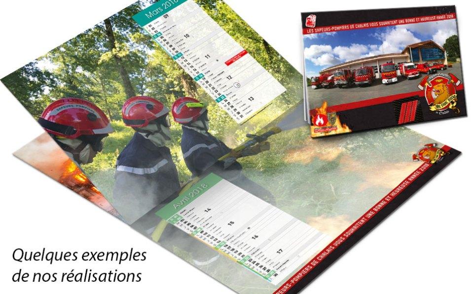 calendrier-photo-2018-4, npc-calendrier.fr, calendrier des sapeurs-pompiers, personnalisés, personnalisables, 2018