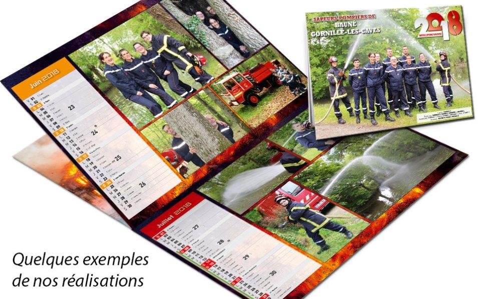 calendrier-photo-2018-6, npc-calendrier.fr, calendrier des sapeurs-pompiers, personnalisés, personnalisables, 2018