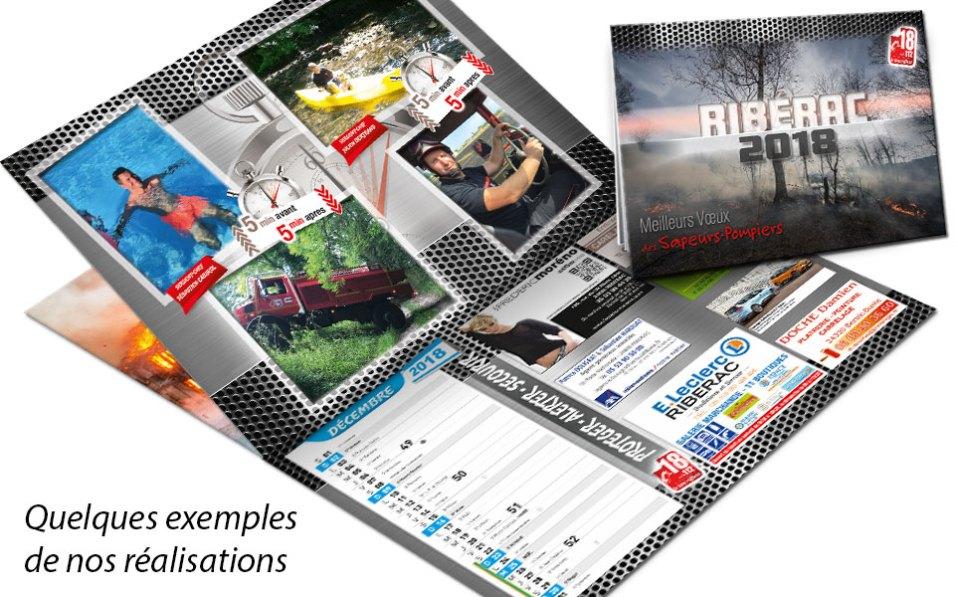 calendrier-pub2-2018-3, npc-calendrier.fr, calendrier des sapeurs-pompiers, personnalisés, personnalisables, 2018