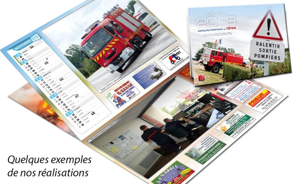 calendrier-pub2-2018-4, npc-calendrier.fr, calendrier des sapeurs-pompiers, personnalisés, personnalisables, 2018