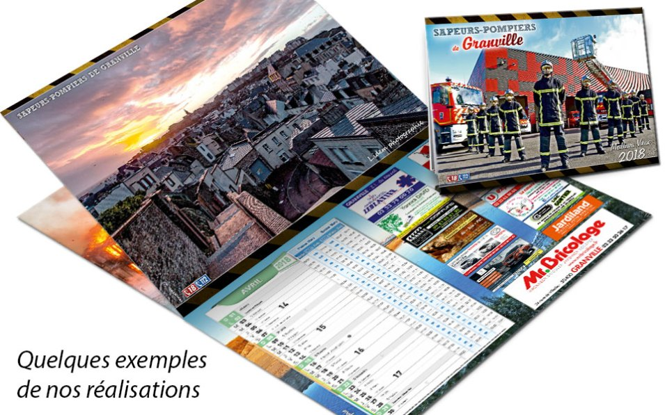 calendrier-pub-2018-1, npc-calendrier.fr, calendrier des sapeurs-pompiers, personnalisés, personnalisables, 2018