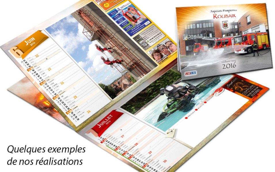 calendrier-pub-2018-4, npc-calendrier.fr, calendrier des sapeurs-pompiers, personnalisés, personnalisables, 2018