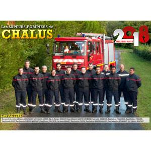calendrier des sapeurs-pompiers de Chalus-2018-0, npc-calendrier.fr