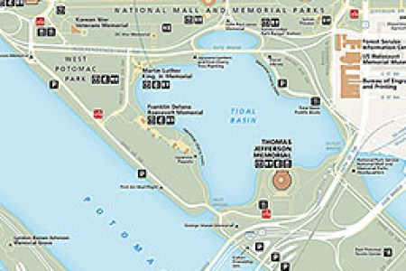 map dc monuments