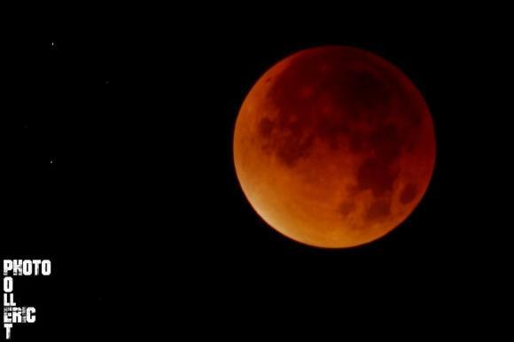 Éclipse de super Lune