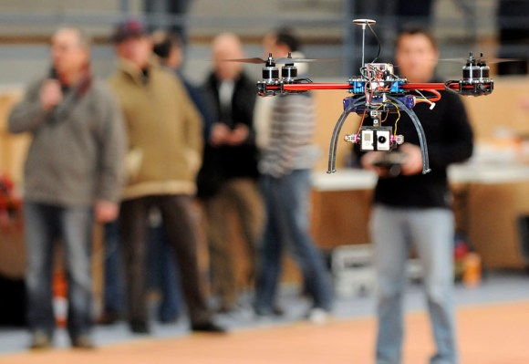 ERIC POLLET DRONE QUADRICOPTERE