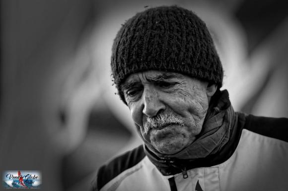 Vendée Globe 2016 : Rich Wilson  – © Eric Pollet –