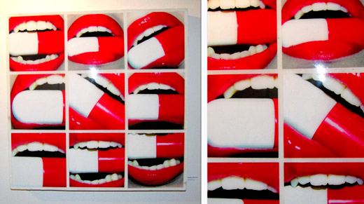 mouth pill art
