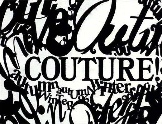 typography moschino fashion nubby twiglet