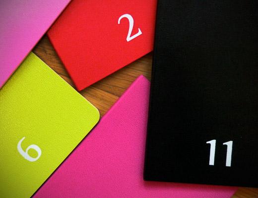 moleskine notebooks daily planner 2010 colour