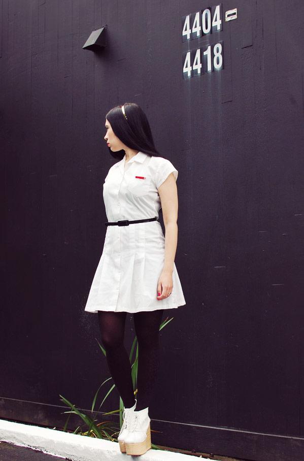Nubbytwiglet.com What I Wore Future Nurse