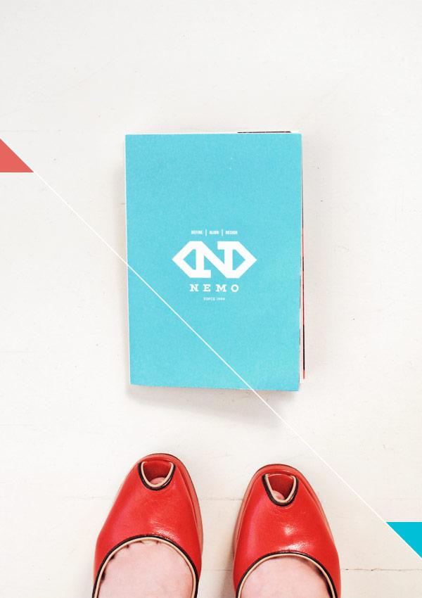 Nemo Design Rebrand Print Promo