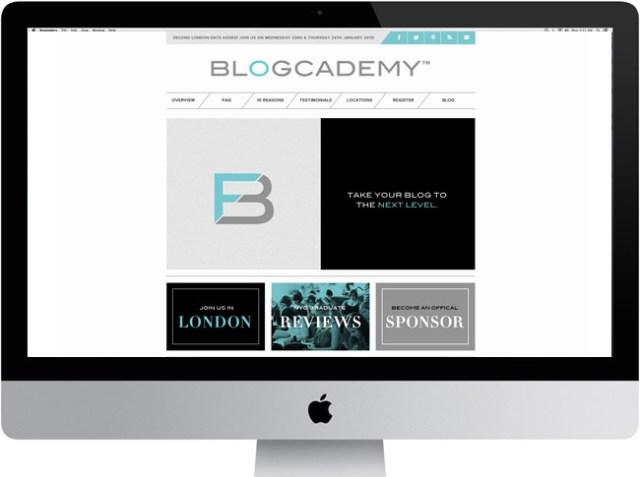The Blogcademy Website