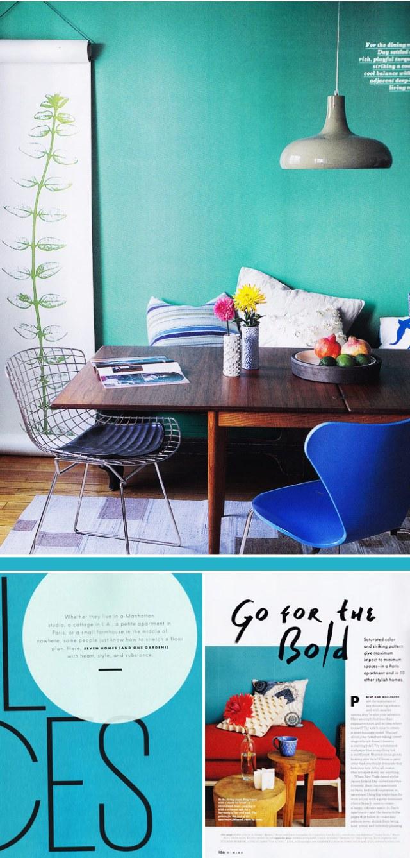 Domino Magazine Small Spaces