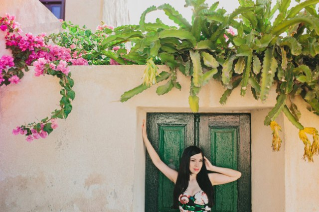 Nubby Twiglet | Overdressed and Owning It in Santorini