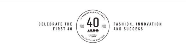 Aldo 40th Anniversary