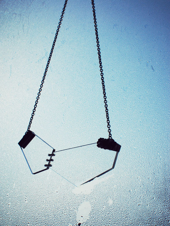 drown fragments landslide necklace