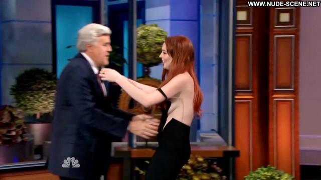 Lindsay Lohan Nude Sexy Scene The Tonight Show With Jay Leno