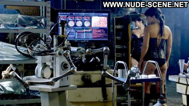 Gina Carano Nude Sexy Scene Almost Human Showing Tits Female