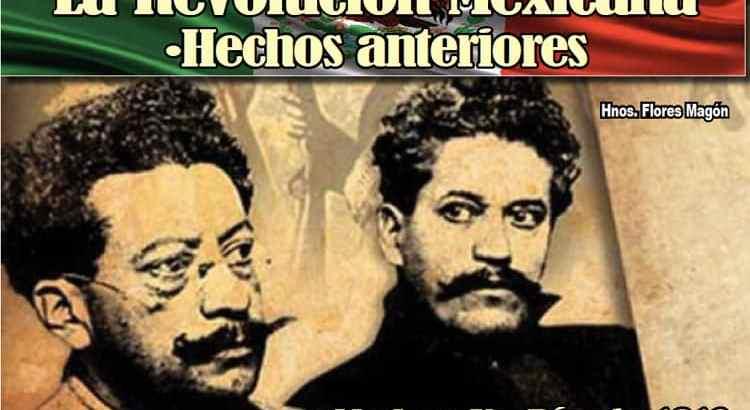 La Revolución Mexicana. Hechos anteriores
