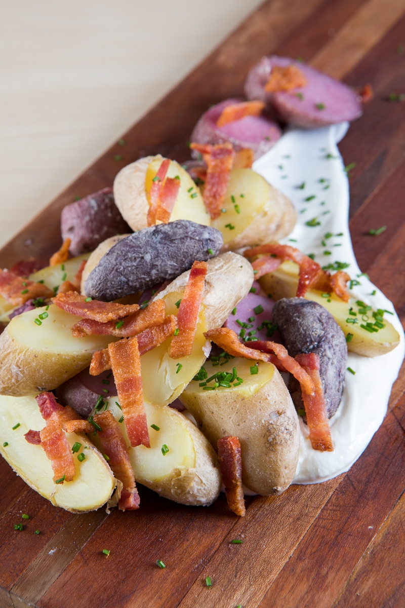 Showy Bacon Chives Nugget Markets Salt Boiled Potatoes Recipe Boiled Potato Recipes Side Dish Boiled Potatoes Recipe Nytimes Salted Potatoes nice food Boiled Potatoes Recipe