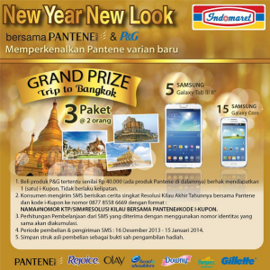 New Year New Look With Pantene & Indomaret