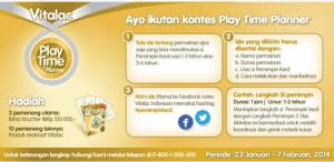 play time planner vitalac