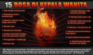 15 dosa dikepala wanita