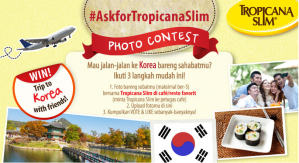#AskForTropicanaSlim Photo Contest