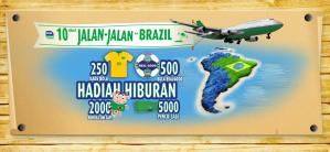 Jelang Bola Brazil Sosiz