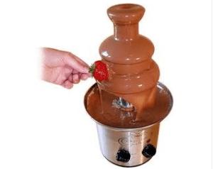 air mancur coklat