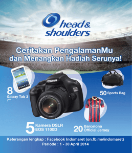 Promo Head N Shoulders