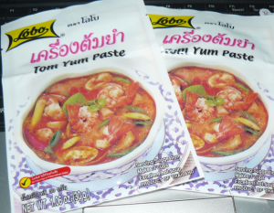 tom yum paste Thailand