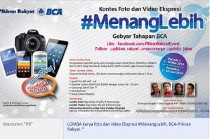 Kontes Foto dan Video Ekspresi #MenangLebih