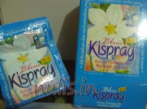 Kispray 3 in 1 Bluis : Wanginya Tahan Lama? Ga Juga......!